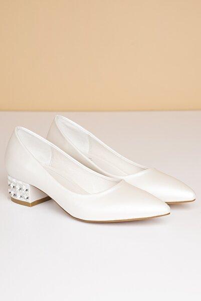 Pierre Cardin Pc-50284 Beyaz Kadın Ayakkabı