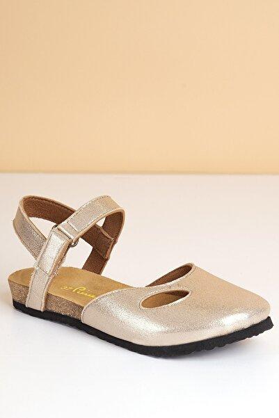 Pierre Cardin Kadın Altın Sandalet Pc-5078