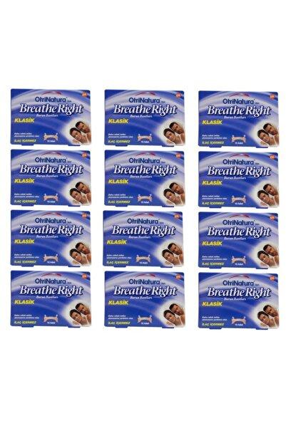 Breathe Right Burun Bandı Normal Boy 10 Adet 12 Li Paket