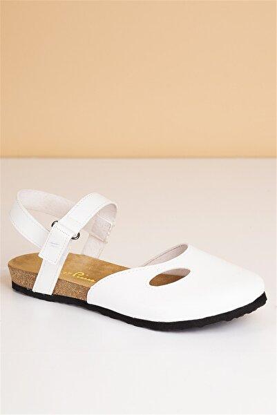 Pierre Cardin Kadın Beyaz Günlük Sandalet Pc-5078