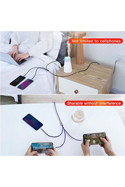 Baseus Camlt 3in1 Type-c,iphone, Micro Usb Çoklu Başlık Halat Usb Kablo