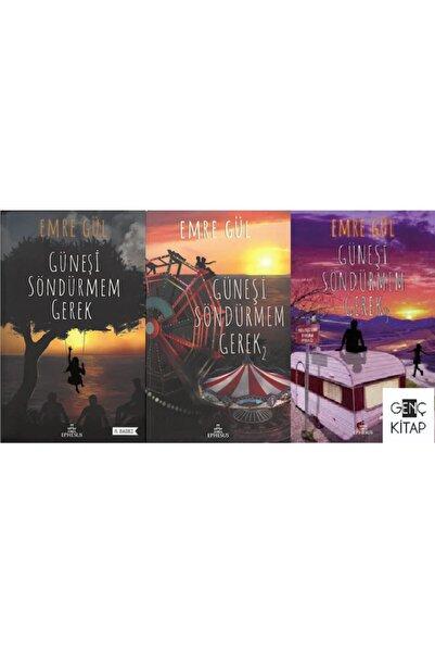 Ephesus Yayınları Güneşi Söndürmem Gerek 3 Kitap Set Ciltli Emre Gül Ephesus 1-2-3