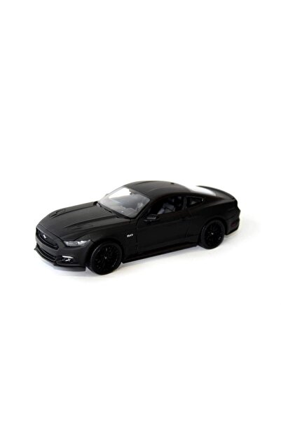 WELLY Fiber Karbon Kaplama 2015 Ford Mustang Gt Model Araba