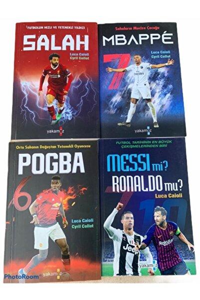 Yakamoz Yayınları Messi Mi, Ronaldo Mu?- Mbappe- Pogba- Salah (futbolcu Serisi 4 Kitap)