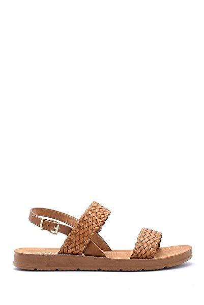 Derimod Kadın Taba Sandalet