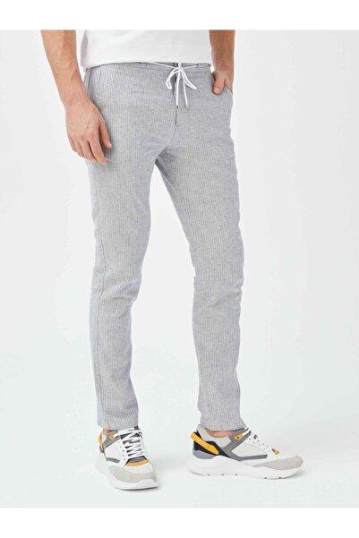 Xint Xınt Erkek Keten Slim Fit Pantolon