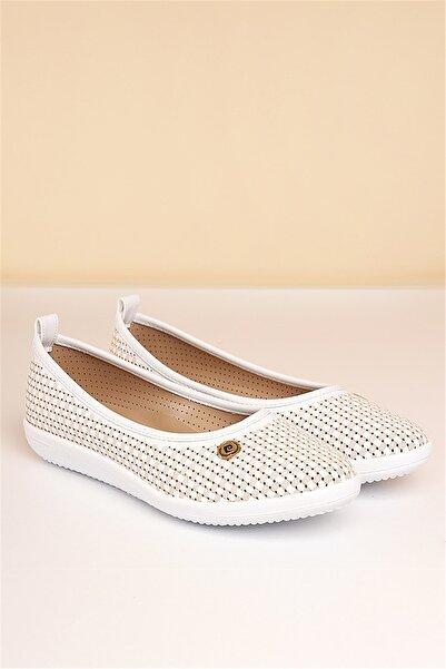 Pierre Cardin Kadın Beyaz Günlük Ayakkabı Pc-50094