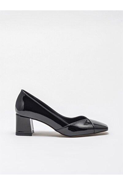 Elle Shoes Kadın Siyah Klasik Topuklu Ayakkabı