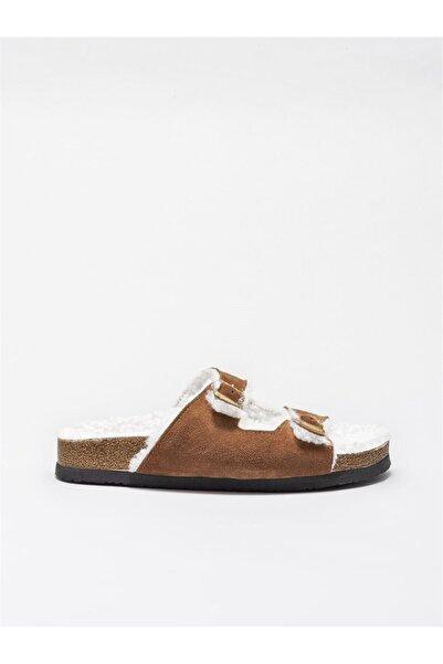 Elle Shoes Kadın Taba Terlik