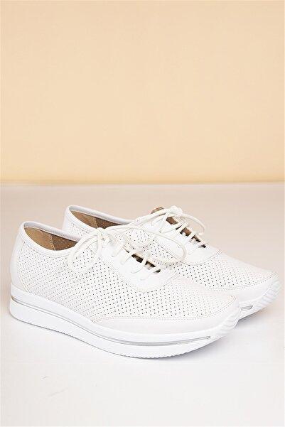Pierre Cardin Kadın Beyaz Günlük Ayakkabı  Pc-50100
