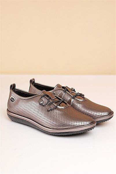 Pierre Cardin Pc-50101 Platin Kadın Ayakkabı