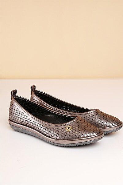 Pierre Cardin Pc-50094 Platin Kadın Ayakkabı