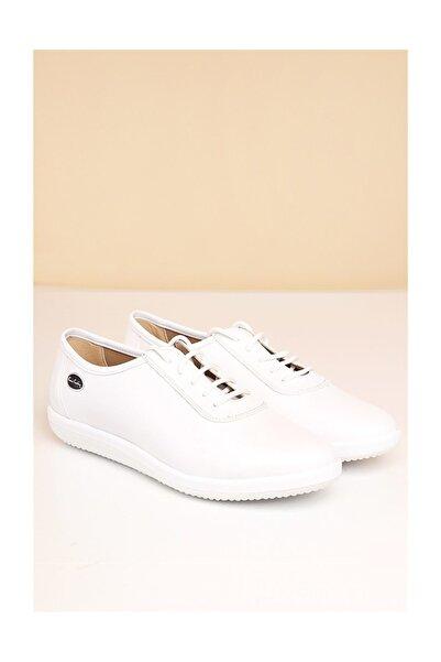 Pierre Cardin Pc-50105 Beyaz Kadın Ayakkabı
