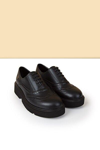 Pierre Cardin Kadın Siyah Ayakkabı Pc-50420 - 3441-01
