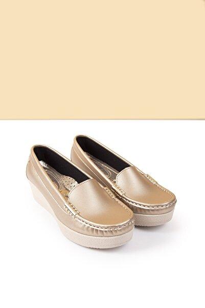 Pierre Cardin Pc-50800 Altın Kadın Ayakkabı