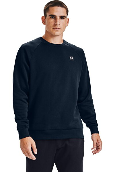 Under Armour Erkek Spor Sweatshirt - Ua Rival Fleece Crew - 1357096-408