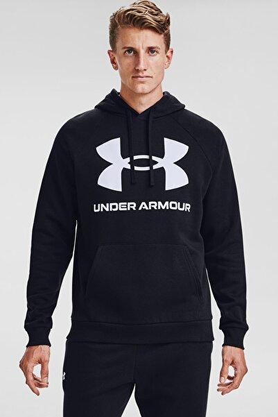 Under Armour Erkek Spor Sweatshirt - Ua Rival Fleece Big Logo Hd - 1357093-001