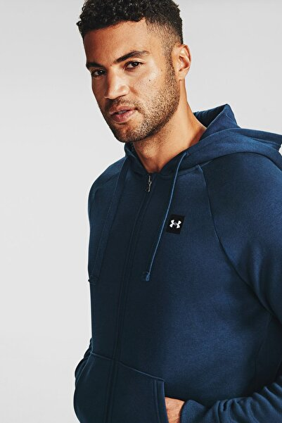 Under Armour Erkek Spor Sweatshirt - Ua Rival Fleece Fz Hoodie - 1357111-408