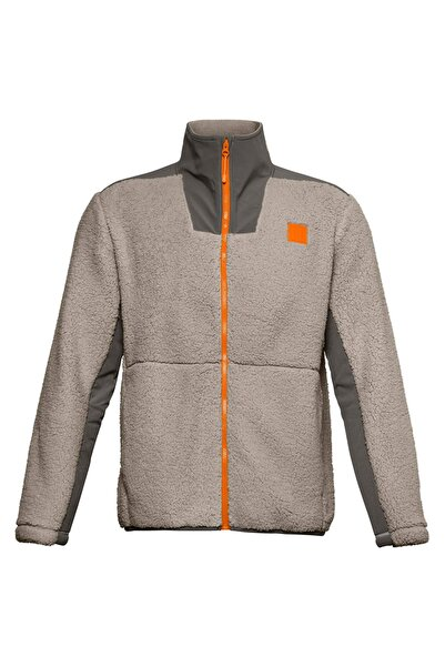 Under Armour Erkek Spor Sweatshirt - Ua Legacy Sherpa Swacket - 1357474-200