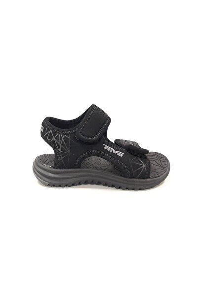 TEVA Unisex Çocuk Siyah Sandalet