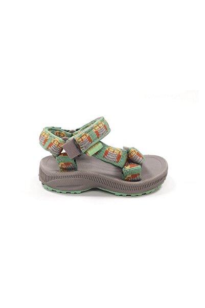 TEVA Unisex Çocuk Yeşil Sandalet
