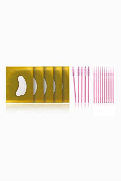 iconsign Kirpik Lifting Uygulama Seti - Gözaltı Ped'i - Maskara Fırça - Pamuklu Uygulama Cubuğu(mikrobrush)