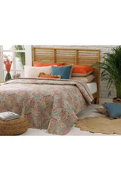 English Home Mercan Salome Çift Kişilik Çok Amaçlı Yatak Örtüsü 200x220 cm.