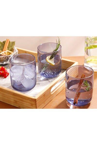 English Home Mavi Avin Cam 3'lü Meşrubat Bardağı 270 ml