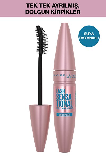Maybelline New York Volum Express Lash Sensation Waterproof Maskara
