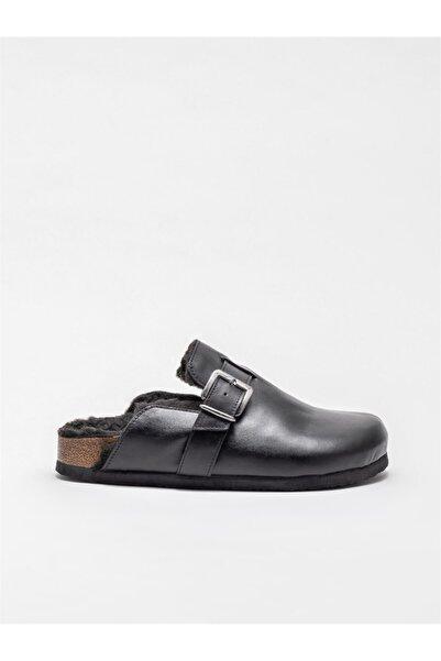 Elle Shoes Kadın Siyah Ev Terliği