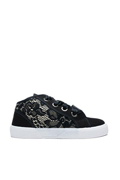 Guess Piuma Lace Çocuk Siyah Günlük Ayakkabı FI7PIM-S