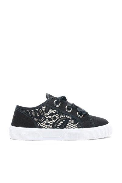 Guess Piuma Lace Çocuk Siyah Günlük Ayakkabı FI7PIL-S