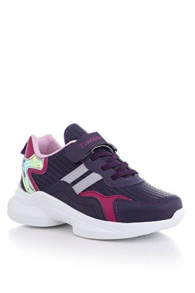 Tonny Black Mor Çocuk Spor Ayakkabı Tbk5