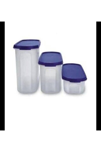 Tupperware Oval Bakliyat Kabı 500 Ml 1.1 Lt Ve 1.7 Lt