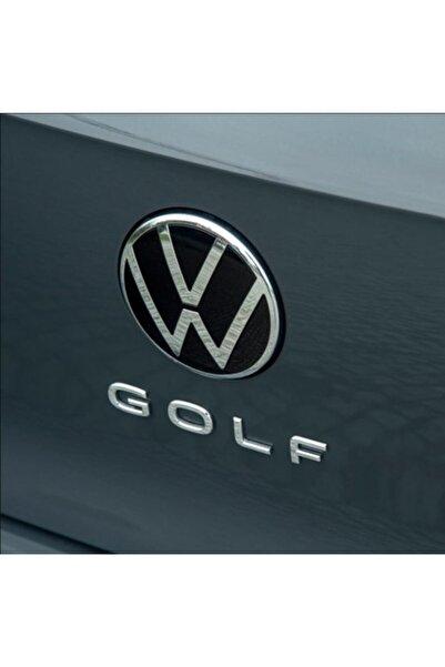 Space Volkswagen Golf Bagaj Arması Yeni Nesil Yazı Modeli Gümüş