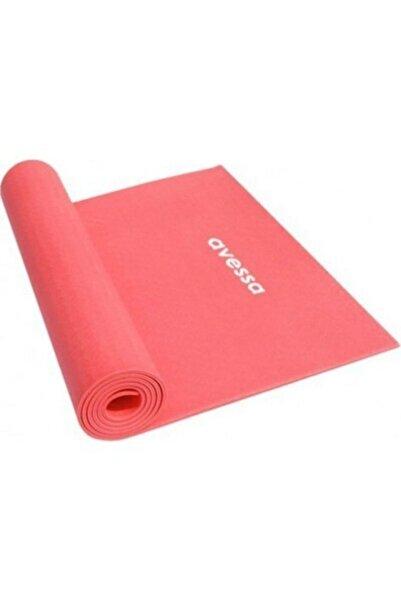 AVESSA 4mm Pilates Minderi & Yoga Matı - Kırmızı