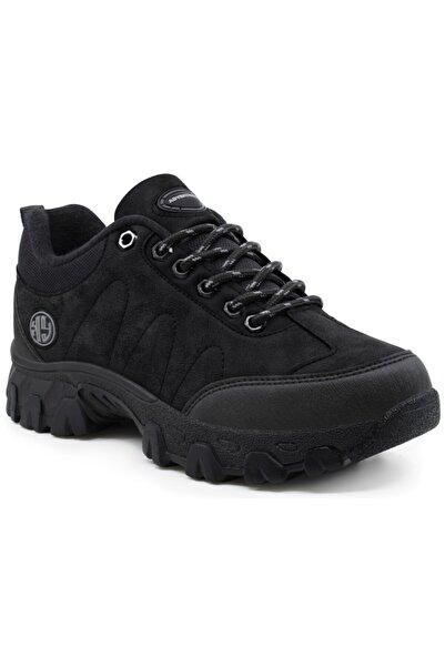 Khayt Erkek Siyah Adventureus Su Ve Soğuk Dayanıklı Memory Rahat Taban Ayakkabı Bot