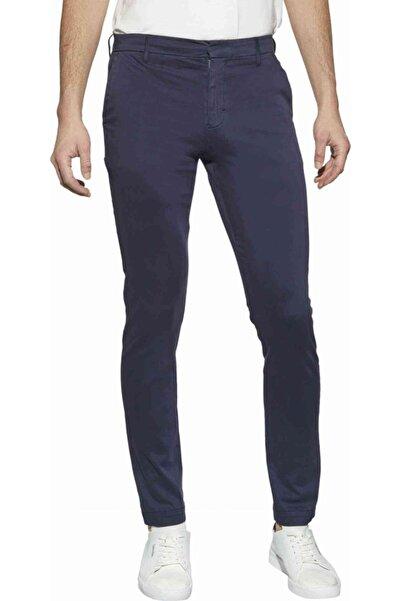 Calvin Klein Erkek Mavi Slim Pantolon