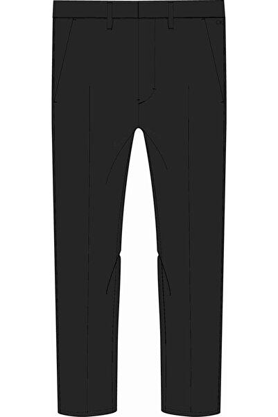 Calvin Klein Erkek Gri Slim Pantolon