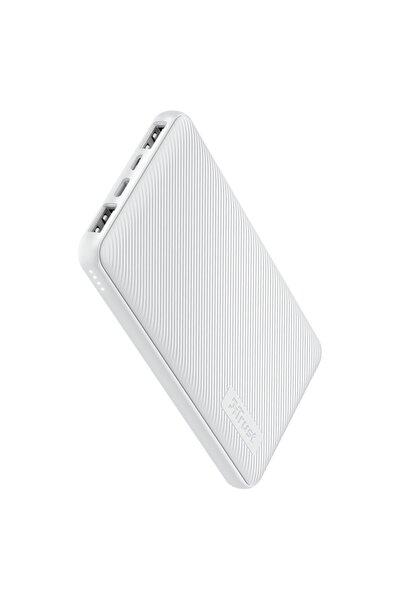 Trust Primo Ultra Ince Beyaz 10.000 Mah Süper Hızlı Şarj Özellikli Powerbank