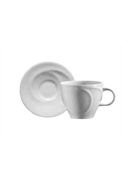 Kütahya Porselen Spiral Çay Fincan Seti 6 'lı