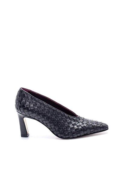 Sofia Baldi Kadın Siyah Kalın Topuk Ayakkabı