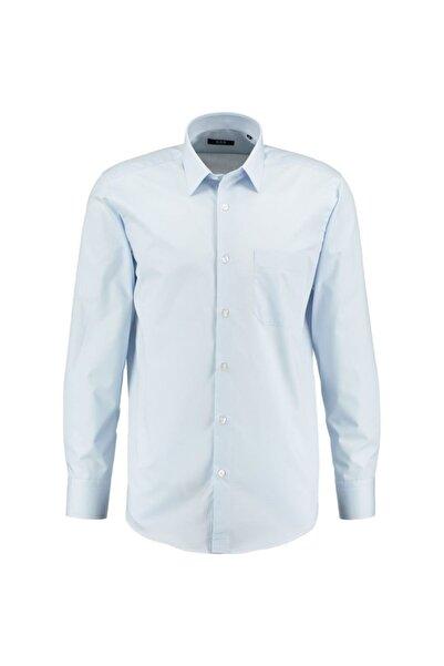 CCS Sarar Erkek Mavi Frank Klasik Kesim Gömlek