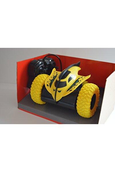 Canda Oyuncak 360 Derece Dönebilen Uzaktan Kumandalı Araba-sarı