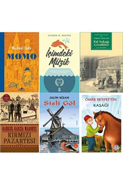 Optimum Kitap Momo, Içimdeki Müzik, Pal Sokağı Çocukları, Kırmızı Pazartesi, Sisli Göl, Kaşağı Kitap Seti