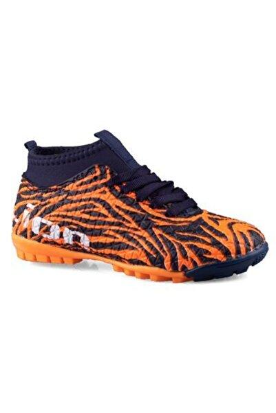 Lion Unisex Lacivert Turuncu Ayakkabı