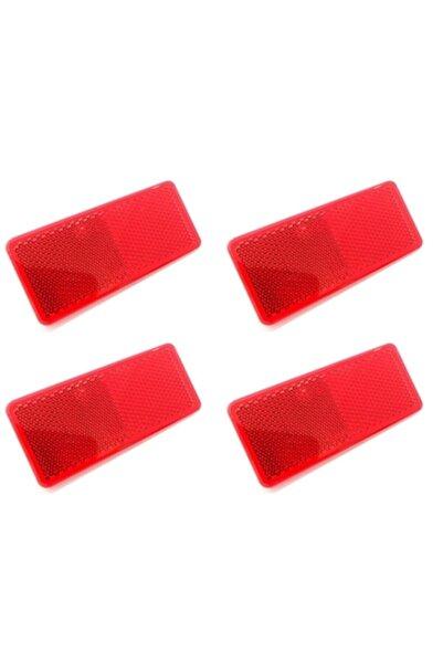 ModaCar Yapıştırmalı Kırmızı Ikaz Reflektörü 4 Adet 427992