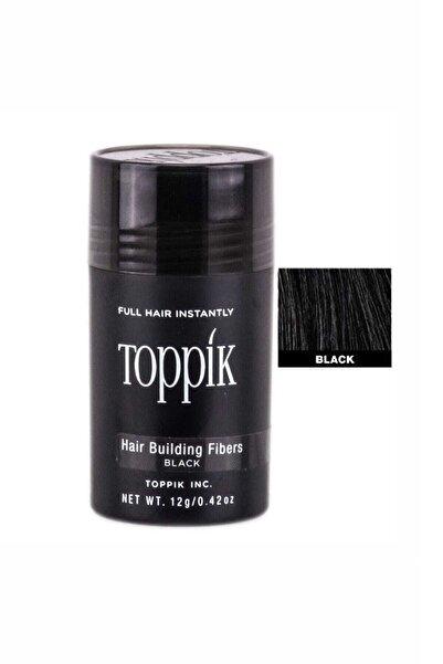 Toppik Saç Dolgunlaştırıcı Fiber Siyah 12 G - Hair Building Fibers 8680937004610