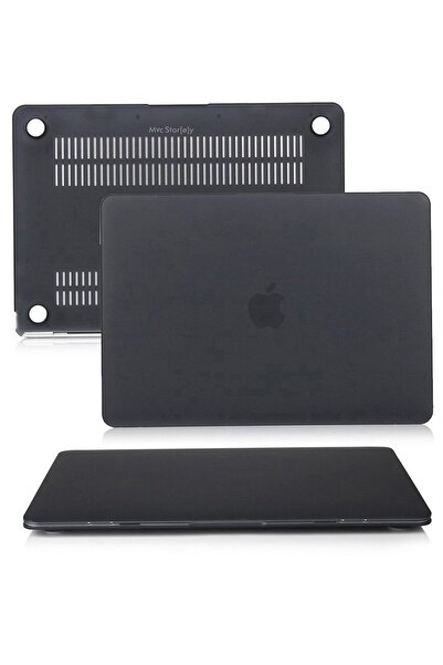 """Mcstorey Yeni Macbook Pro A1706 A1708 A1989 13""""-13.3"""" Kılıf Kapak Koruma Ruberized Hard Incase Mat"""