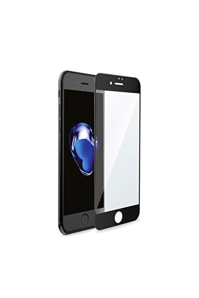 Mkey Iphone 7 Kırılmaz Cam, Iphone 7 6d Kırılmaz Cam, Iphone 7 Ekran Koruyucu Siyah